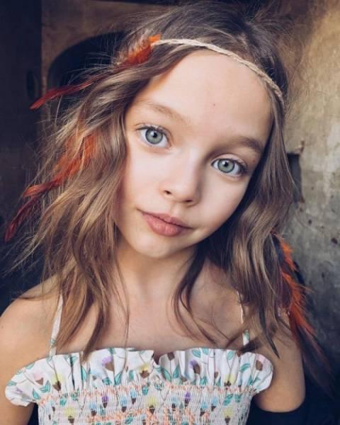 8 юных обладателей неповторимой внешности Интересное