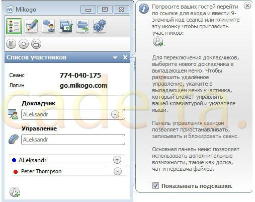 Як користуватися програмою Mikogo спільно з Skype