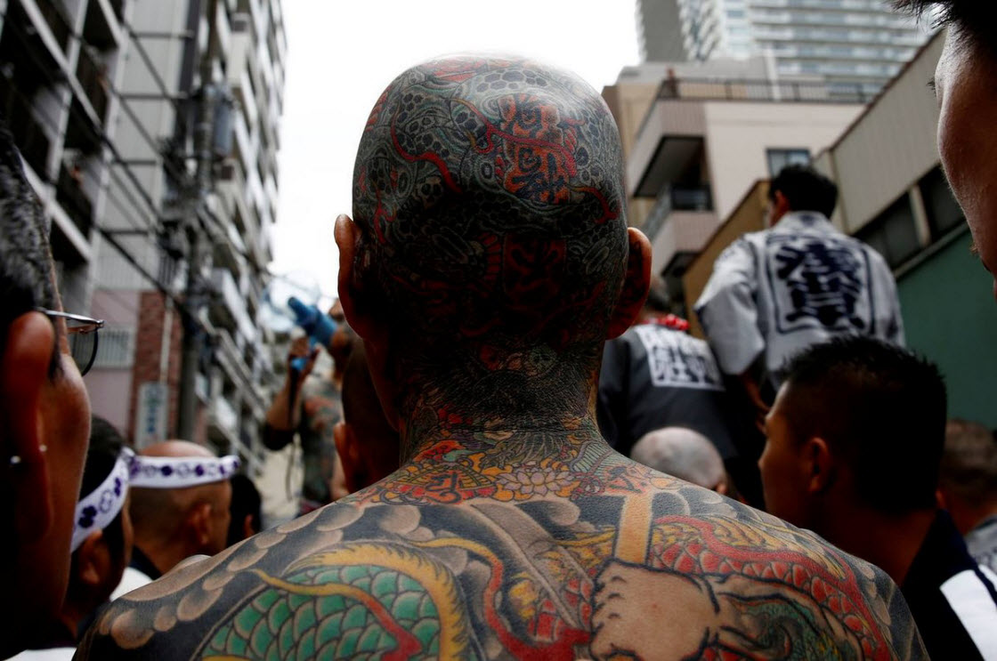 Фестиваль «Мацури» в Токио праздник,фестиваль,праздник,татуировки,Токио,фестиваль,Япония