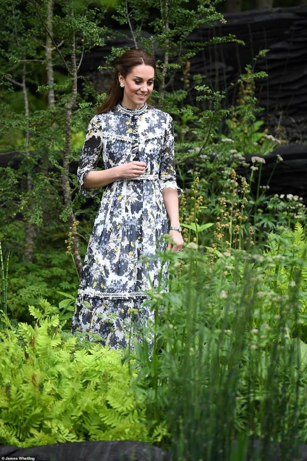 Кейт Миддлтон презентовала свой сад