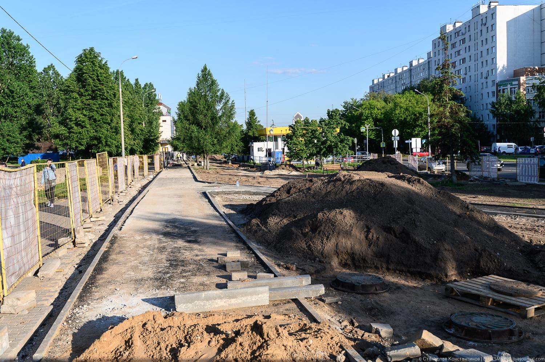 Парк света. Реконструкция сквера вдоль ул. Костромская. паркимосквы,бибирево,парк,москва,парк света