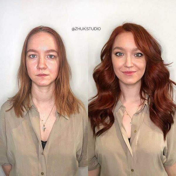 Российский стилист наглядно продемонстрировал, как можно преобразить любую женщину
