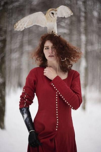 Огненная красота рыжих на портретах питерского фотографа Интересное