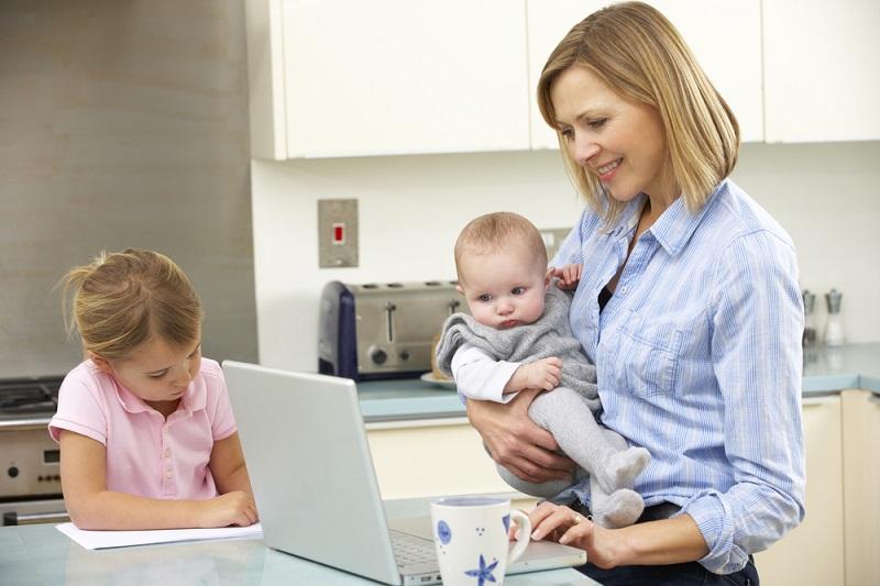 Как совместить карьеру и материнство Вдохновение,Советы,Воспитание,Мамы,Материнство,Отношения,Психология