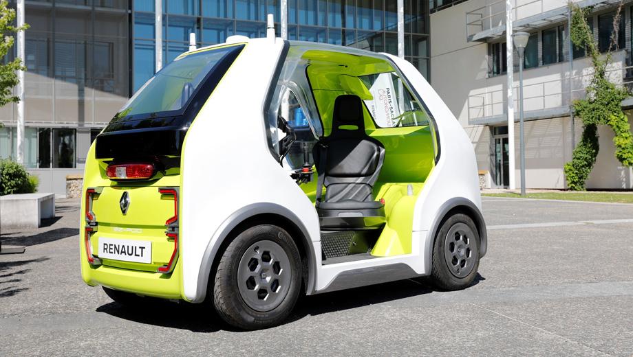 Фирма Renault начала опыт с автономными такси близ Парижа Авто и мото