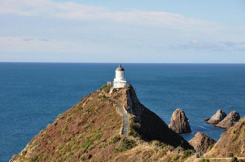 Маяк Наггет Поинт: райский уголок в Новой Зеландии путешествия,Путешествие и отдых