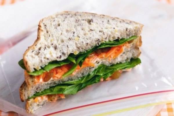 8 безумно вкусных бутербродов, которые можно взять на работу Интересное