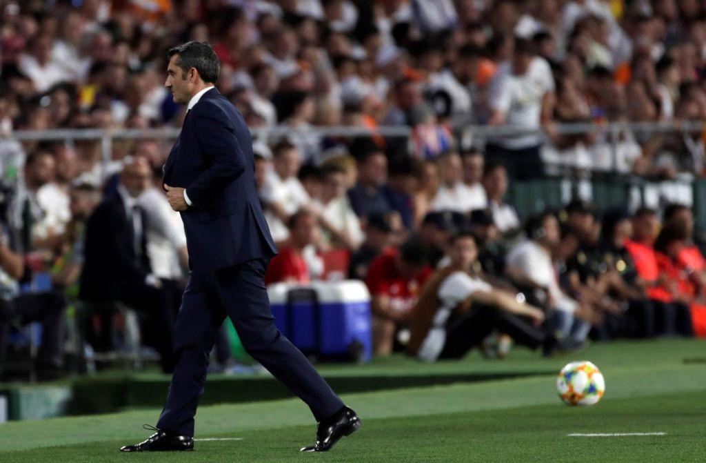 Вальверде проиграл свой пост не на «Энфилде», а в Кубке Испании. Есть четыре кандидата на его замену Спорт
