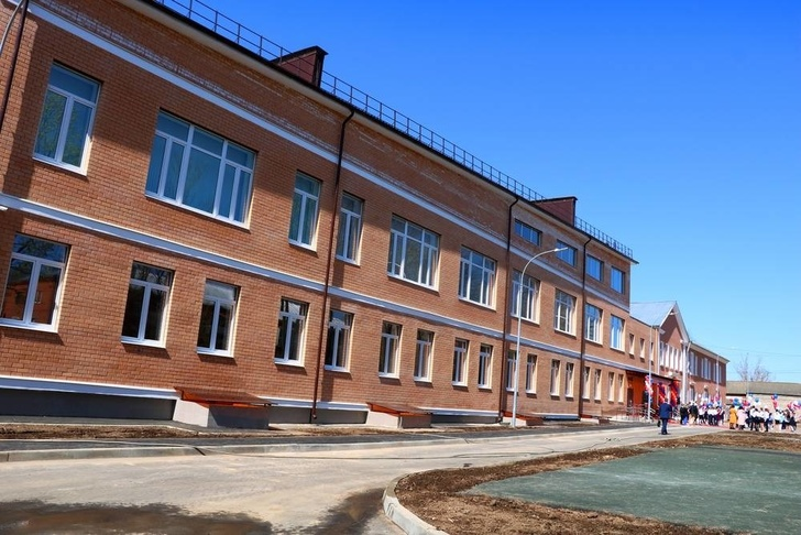 Открылась новая школа в Лотошино Московской области события,Новости,сделано у нас