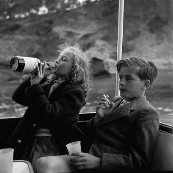 20 фото воспитания детей из прошлого, которые сегодня вызвали бы скандал Интересное