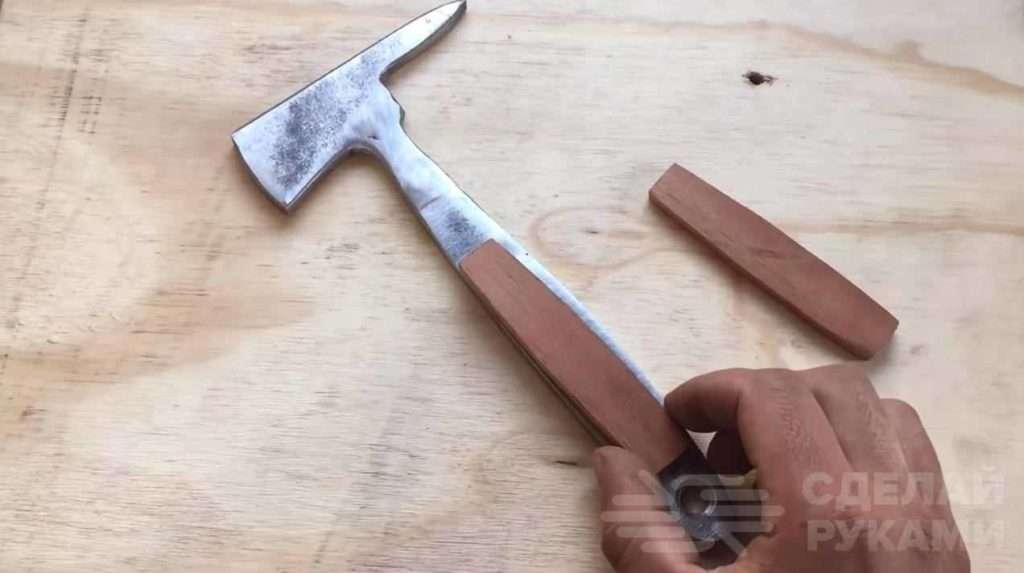 Делаем шлакоотбойный молоток сварщика своими руками Самоделки