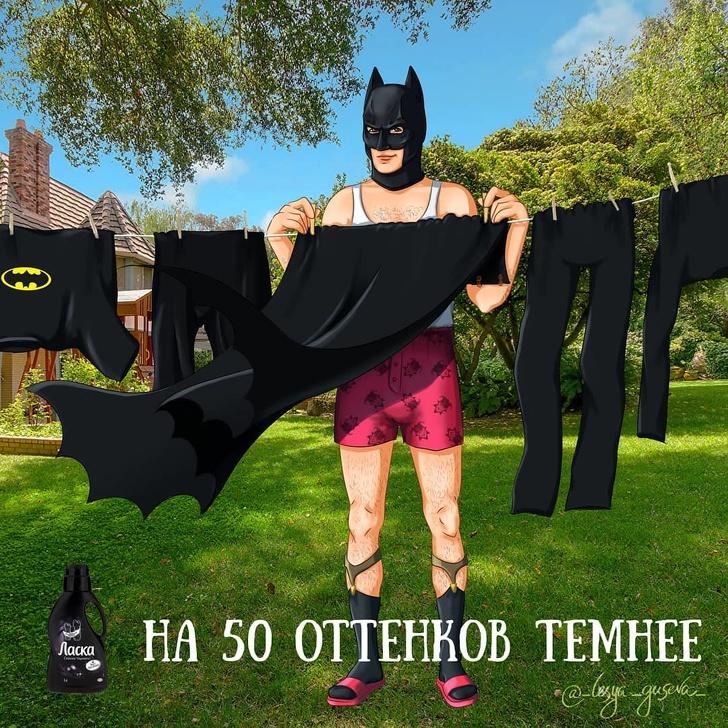 13 неожиданных товаров, которые могли бы рекламировать супергерои Интересное