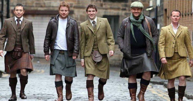 Почему мужчины Шотландии носят юбки?   Интересное