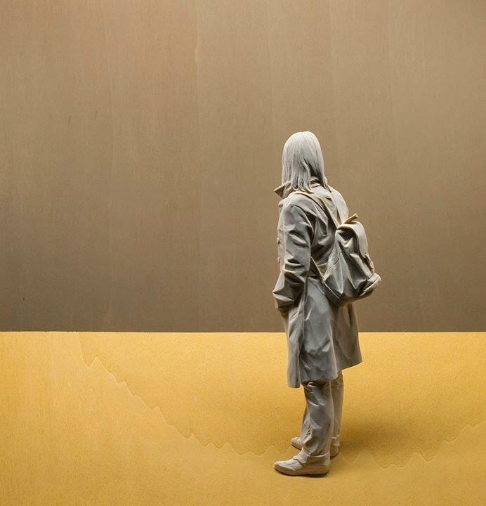 Скульптуры из дерева итальянского скульптора и художника Петера Демеца Интересное