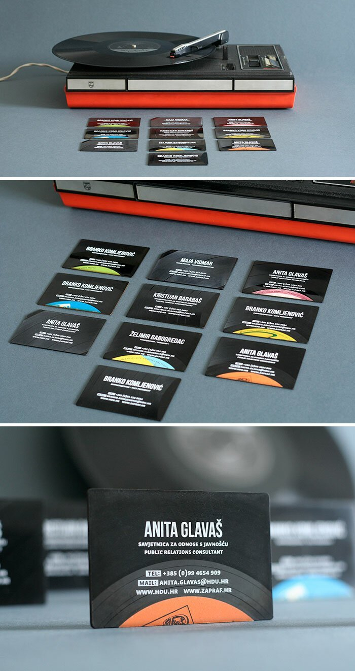 40 самых оригинальных идей дизайна визитных карточек интересное