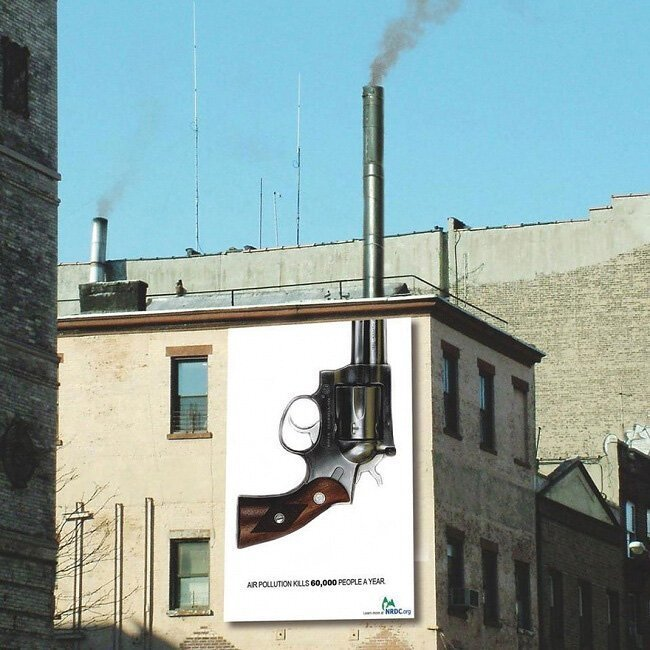 40 убедительных примеров социальной рекламы Интересное