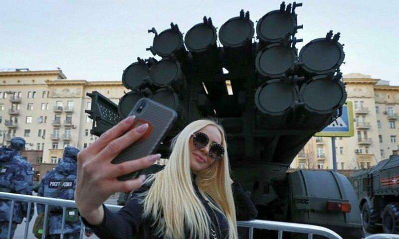 Неподражаемая Россия-матушка в забавных фотографиях Интересное