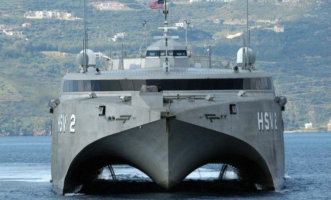 Инновационный американский корабль стал военным провалом Интересное