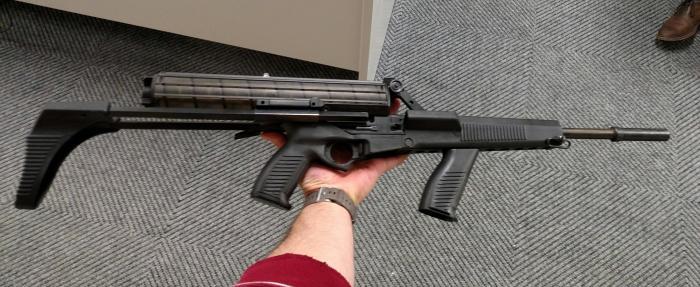 Пистолет-пулемет Calico M960: самое странное оружие американских конструкторов Интересное