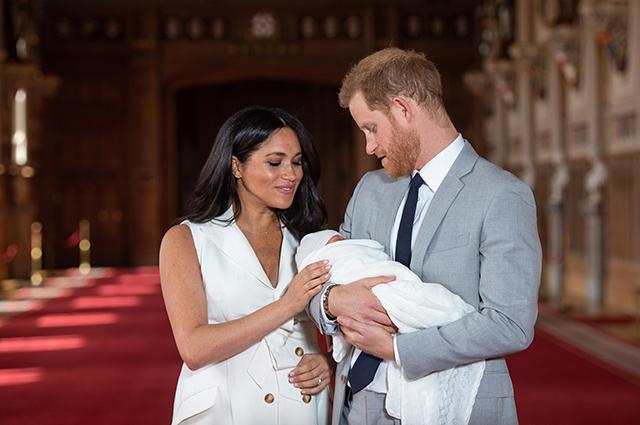 Няня первенца Меган Маркл и принца Гарри уволилась спустя две недели работы Монархии