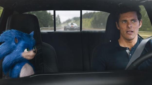 Фильм «Соник в кино» из-за мерзкого лица Соника решили перенести sonic,игровые персонажи,Игры,кино и тв