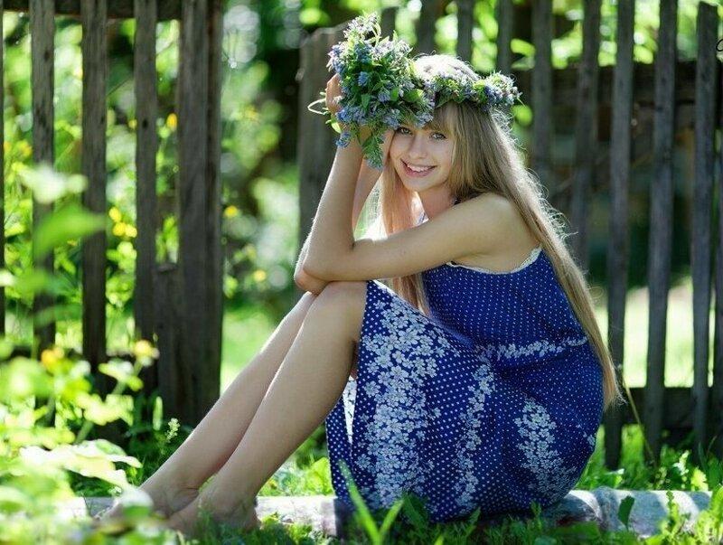 Обаятельные селяночки, которые очаруют вас своей естественной красотой