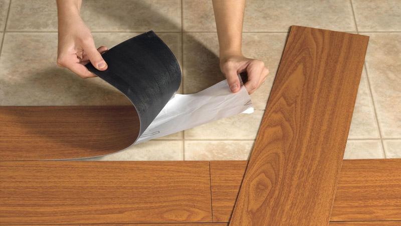5 причин выбрать ПВХ-плитку на отделку пола в квартире сделай сам,советы
