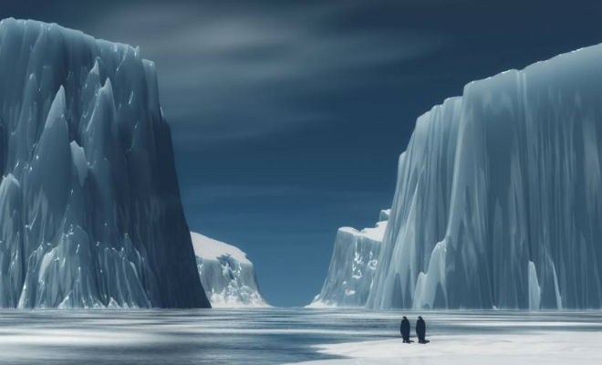 Аномалия в Антарктиде поставила в тупик ученых НАСА аномалия,антарктида,ледяной континент,наука,Пространство