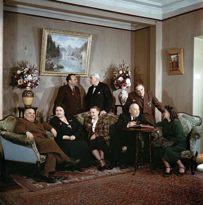 Вперёд в прошлое: фотографии из жизни людей в СССР в 1950-е годы, сделанные Семеном Фридляндом
