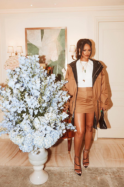 Рианна привлекла маму для рекламы своей дебютной коллекции одежды Новости моды