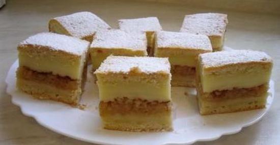 Яблочный пирог и ванильный пудинг: вот как сделать 2-в-1 рецепты