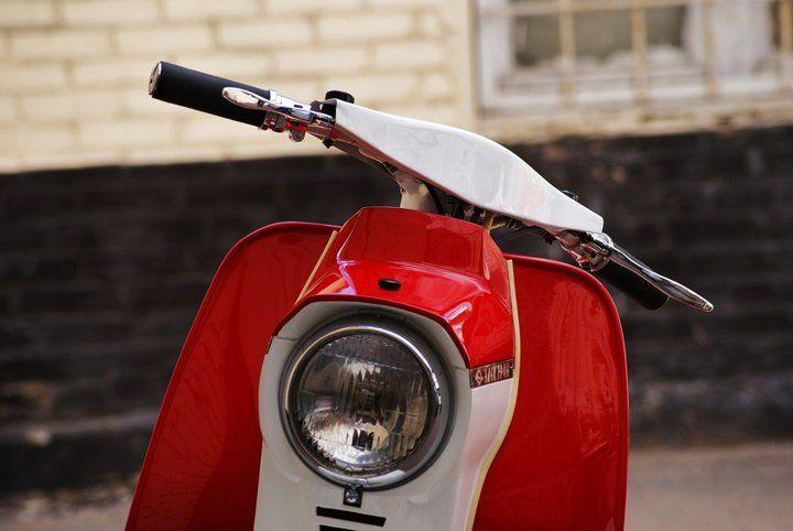 Из «гадкого мото-утёнка» в отличный мотороллер