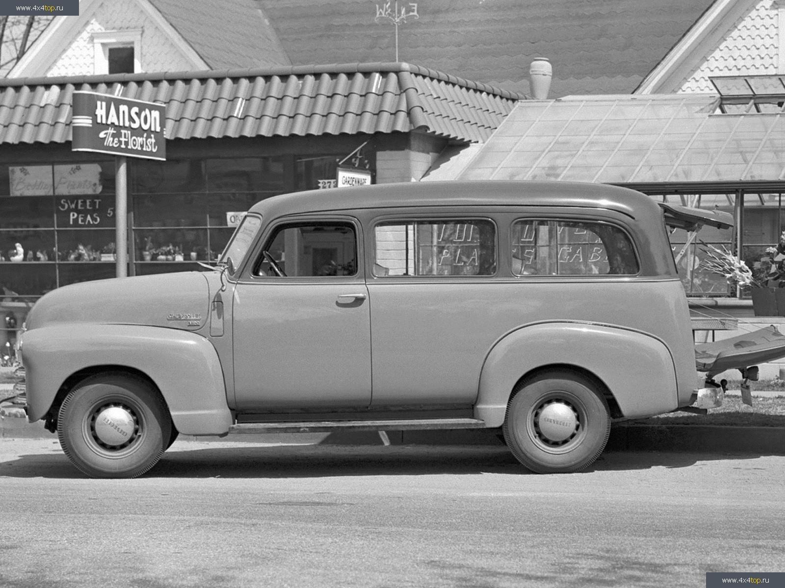 История легенды. Chevrolet Suburban автомобили,история,машины