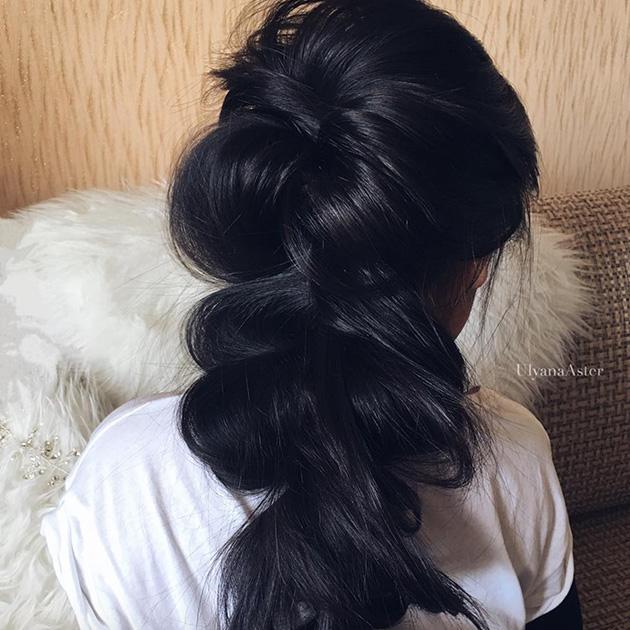 Научись плести стильные косы за 5 минут, это легко! коса,мастер-класс,прическа,своими руками