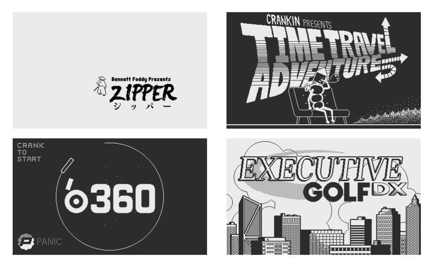 Playdate — современное воплощение GameBoy с черно-белым экраном и странными играми playdate, игры, консоли