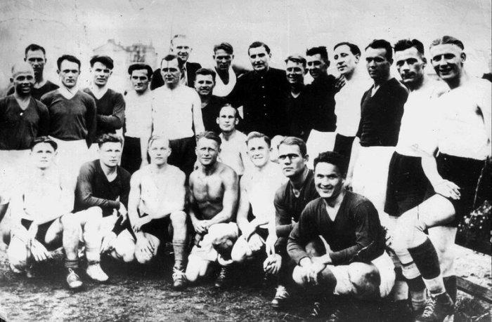 Правда и вымысел о «матче смерти» - футбольном сражении советских спортсменов и фашистских зенитчиков Великая Отечественная Война,матч смерти,футбол