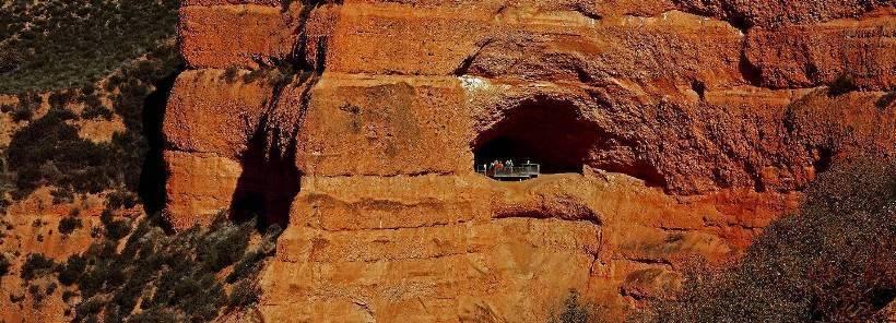 Лас Медулас: как выглядит сейчас главный золотой рудник Римской Империи золото,Лас Медулас,путешествия