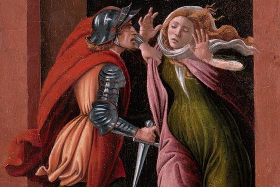 Жуткие картины Боттичелли: истязания женщин