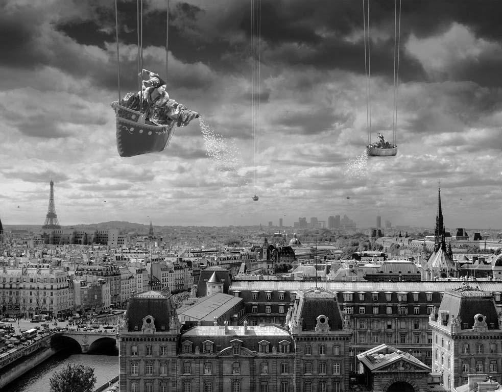 Сюрреализм в работах Томаса Барбе Искусство